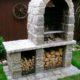 Барбекю своими руками — инструкция как построить печь-барбекю в саду (с чертежами и фото)