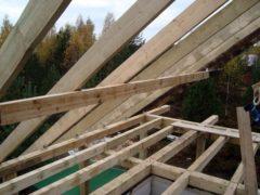 Как сделать крышу для дачи своими руками