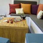 комплект из модульной мебели в гостиную