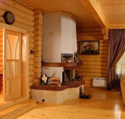 фото пола в деревянном доме