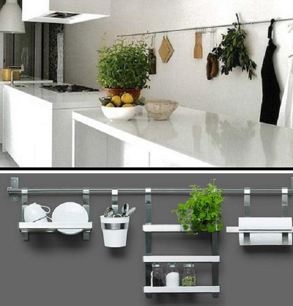 Кухонные фото рейлинги