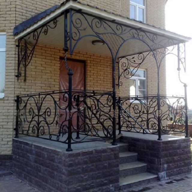 Балкон с крышей на столбах. - мои статьи - каталог статей - .
