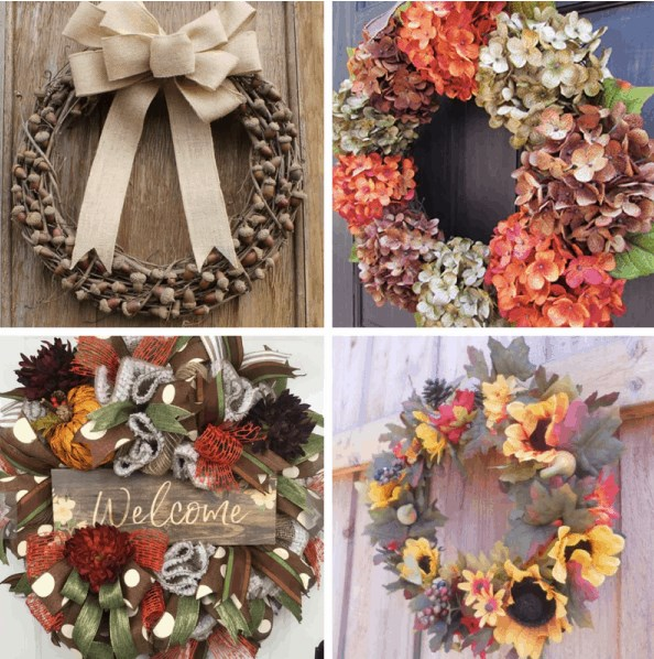 WHERE TO BUY FALL WREATHS THAT WILL FIT YOUR BUDGET